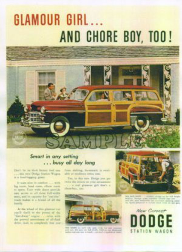 1949 Dodge Woody Station Wagon