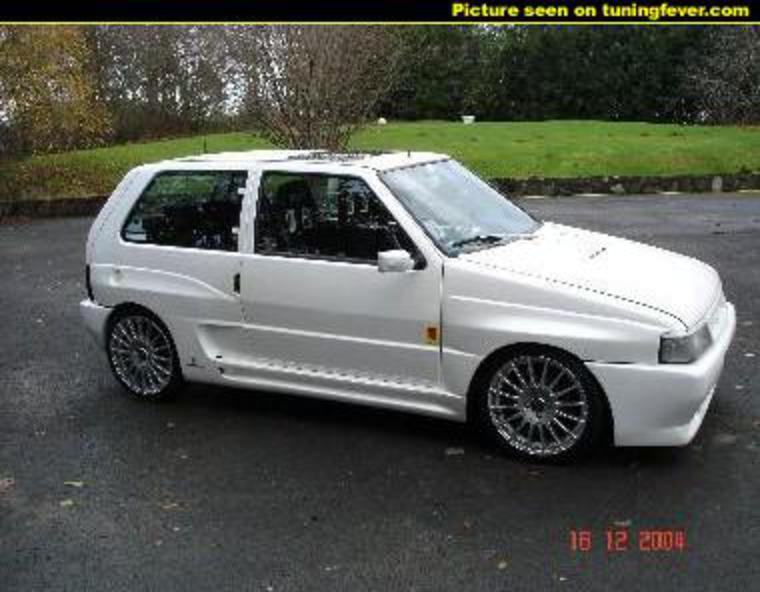 Fiat Scudo Fiat Uno Turbo Ie View Download Wallpaper X Comments C