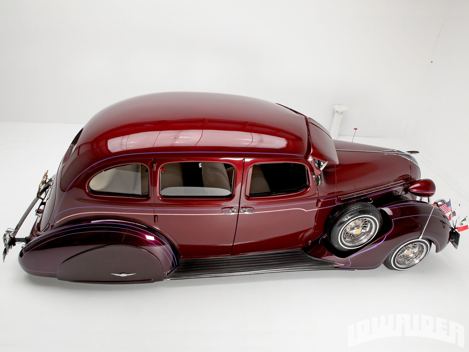 1937 Hudson Terraplane Passenger Side Profile JPG Photo 18