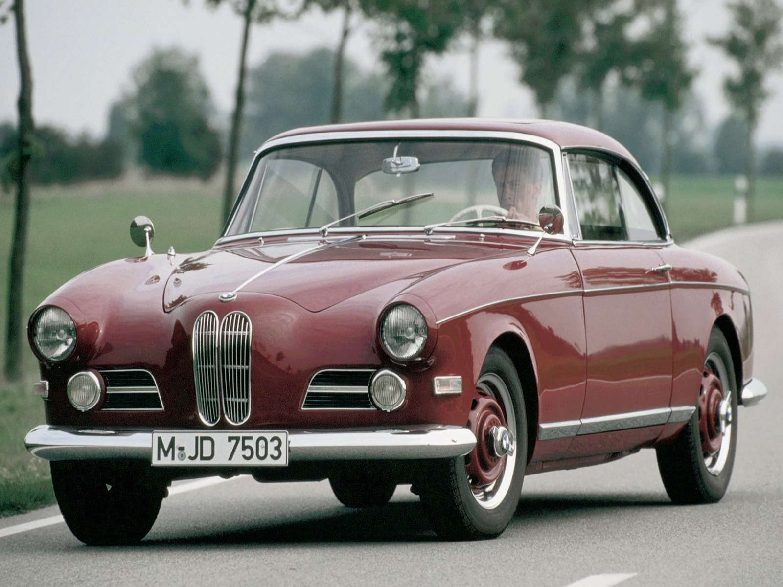 BMW 503 Coupe model 1956
