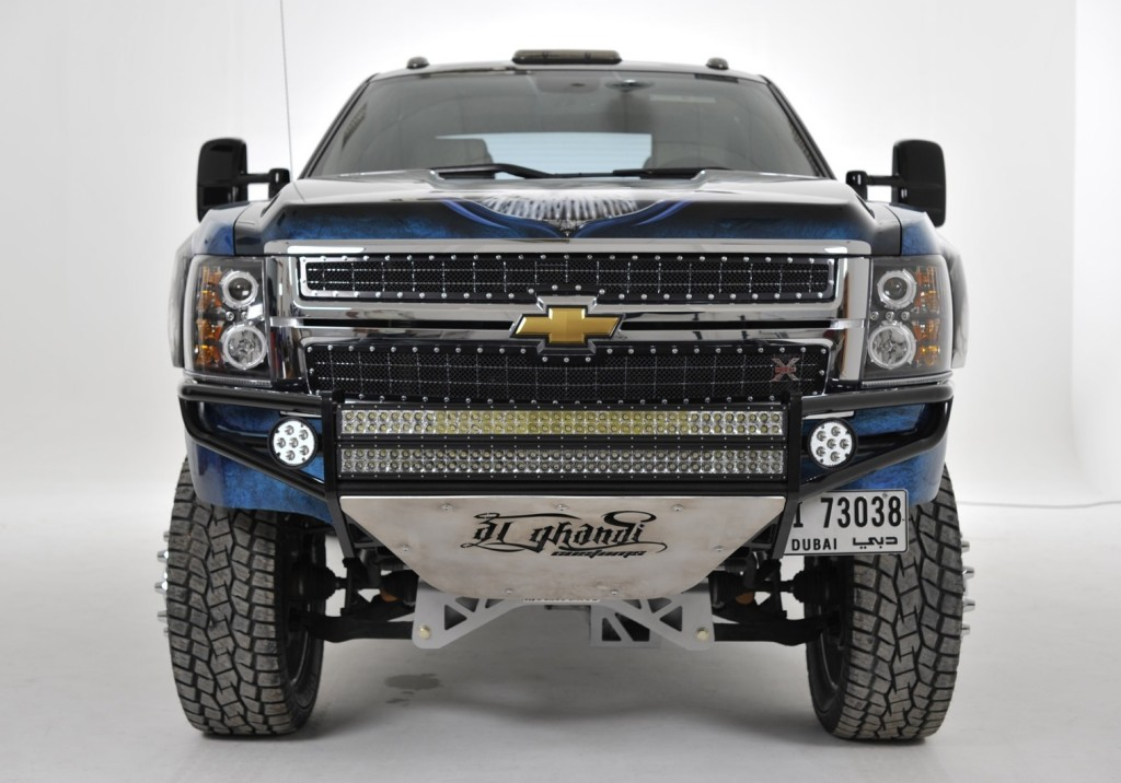 Chevrolet Silverado 3500 HD by Al Ghandi in Dubai wins MBC Driven contest