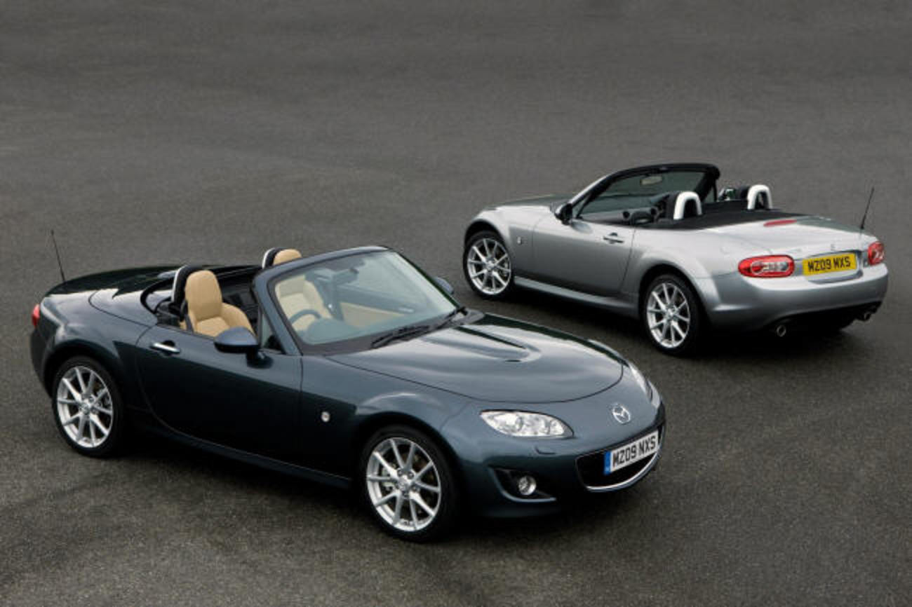 new mazda mx5 and coupe