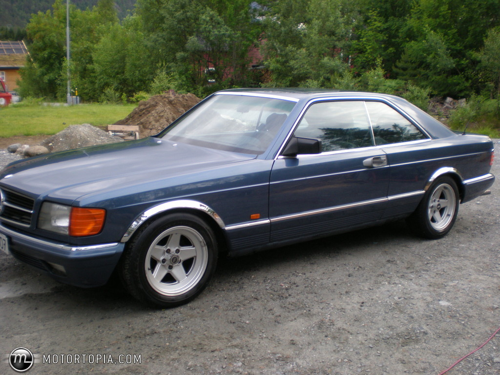 Photo of a 1983 Mercedes-Benz 500 sec coupe (500 sec)