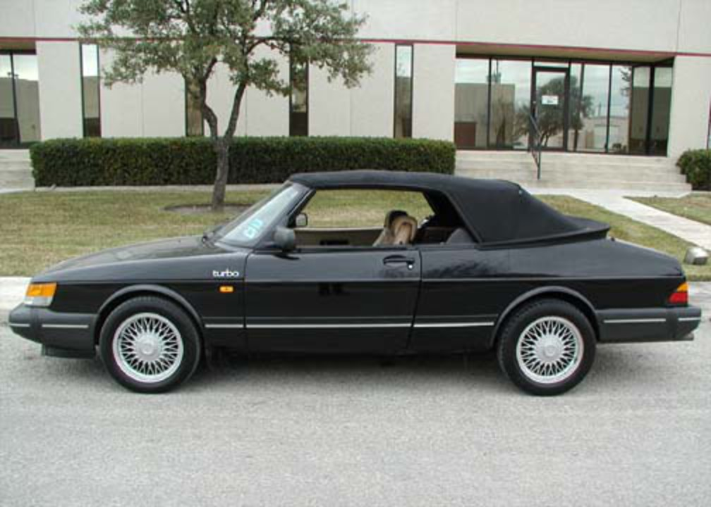 "SAAB 900T Convertible - 1988. Neil Plucknett's ""new"" 1990 Cabrio in the UK"