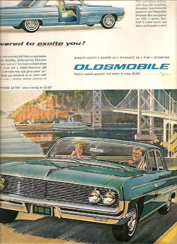 Oldsmobile Dynamic 88 4dr - huge collection of cars, auto news and reviews,