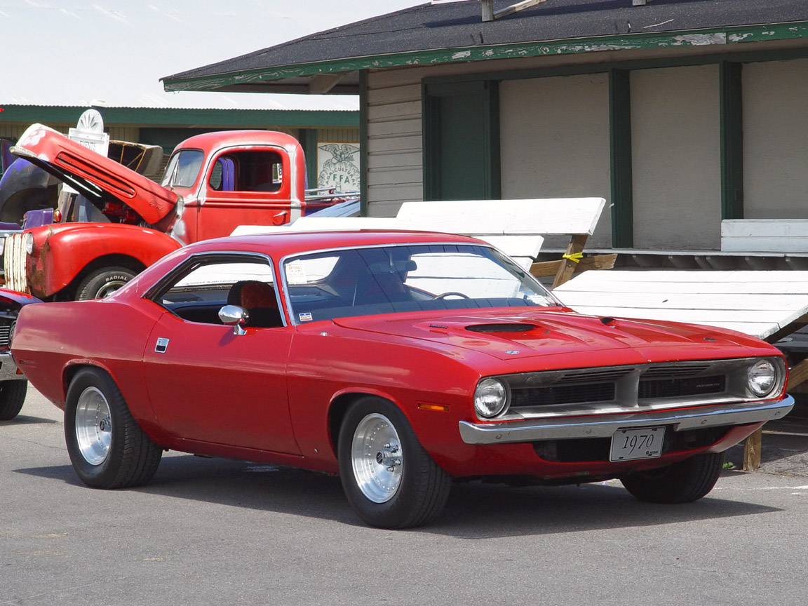 The Plymouth Barracuda is a two-door car that was manufactured by the