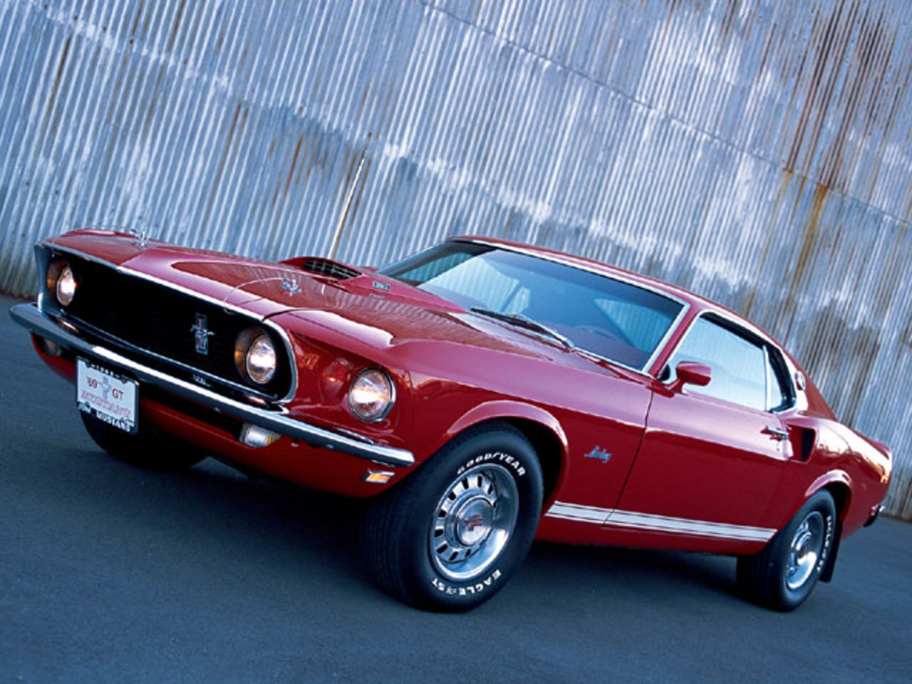 Ford Mustang GT 390 Fastback - cars catalog, specs, features, photos,