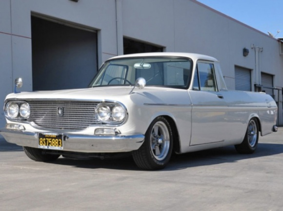 1964 Toyopet Toyota Crown Pickup RS46 RHD Japan For Sale Front