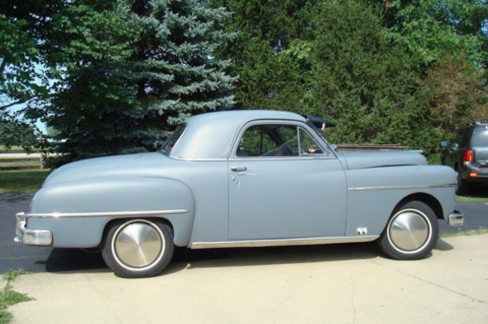 1950 Dodge Business Coupe for $7,000 in Decatur, Illinois For Sale