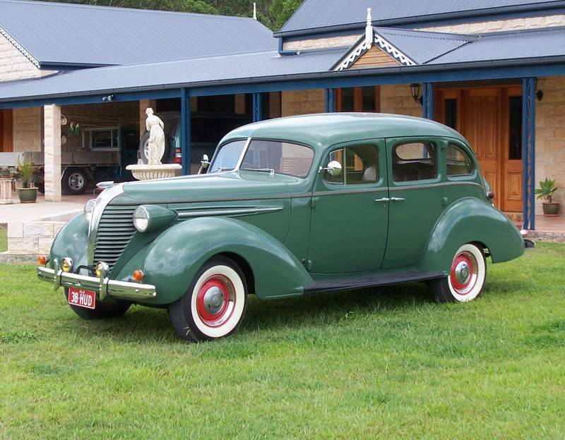 Hudson photographs and Hudson technical data - allcarcentral.