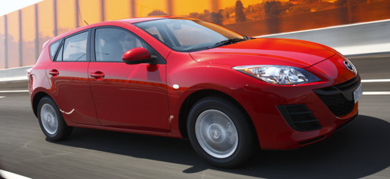 image. The Mazda3 Maxx hatchback starts at $24,990 for the manual and tops