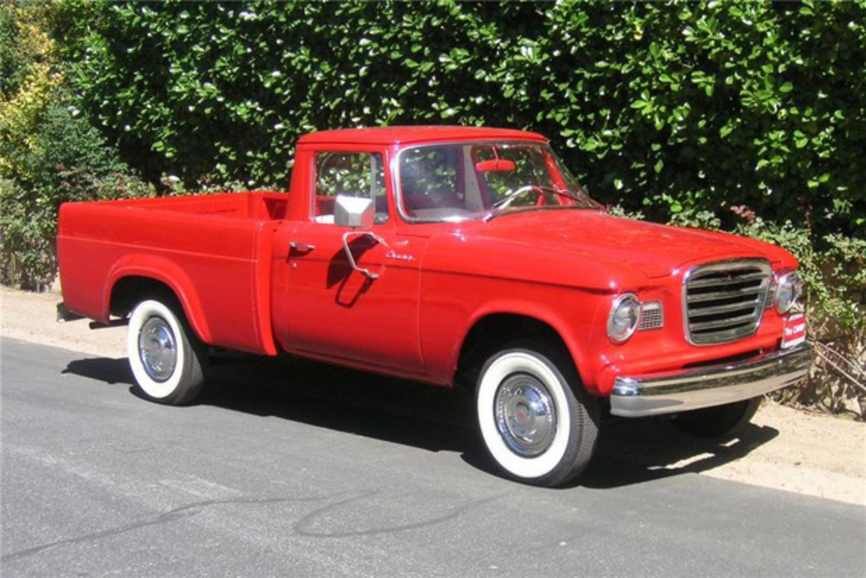 1961 STUDEBAKER CHAMP PICKUP TRUCK | Car Pictures