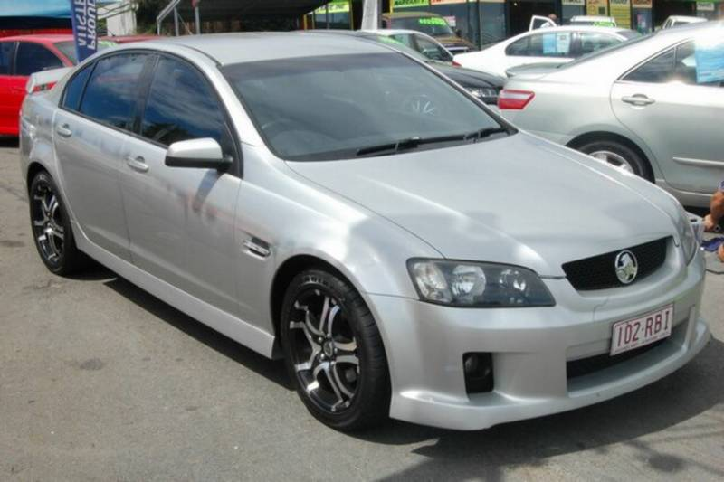 2007 Holden Commodore VE SV6 Silver 5 Speed Automatic Sedan. $17,634.00