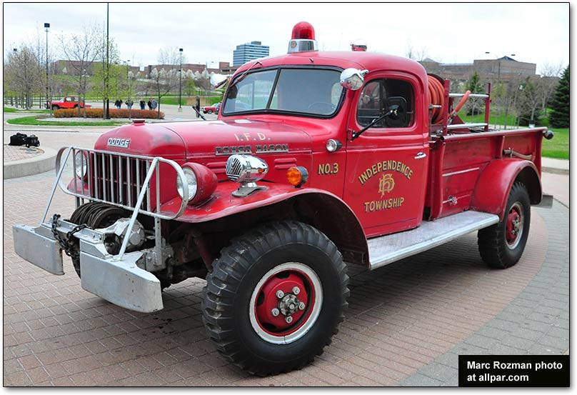 Dodge Power Wagon Fire Truck - huge collection of cars, auto news and
