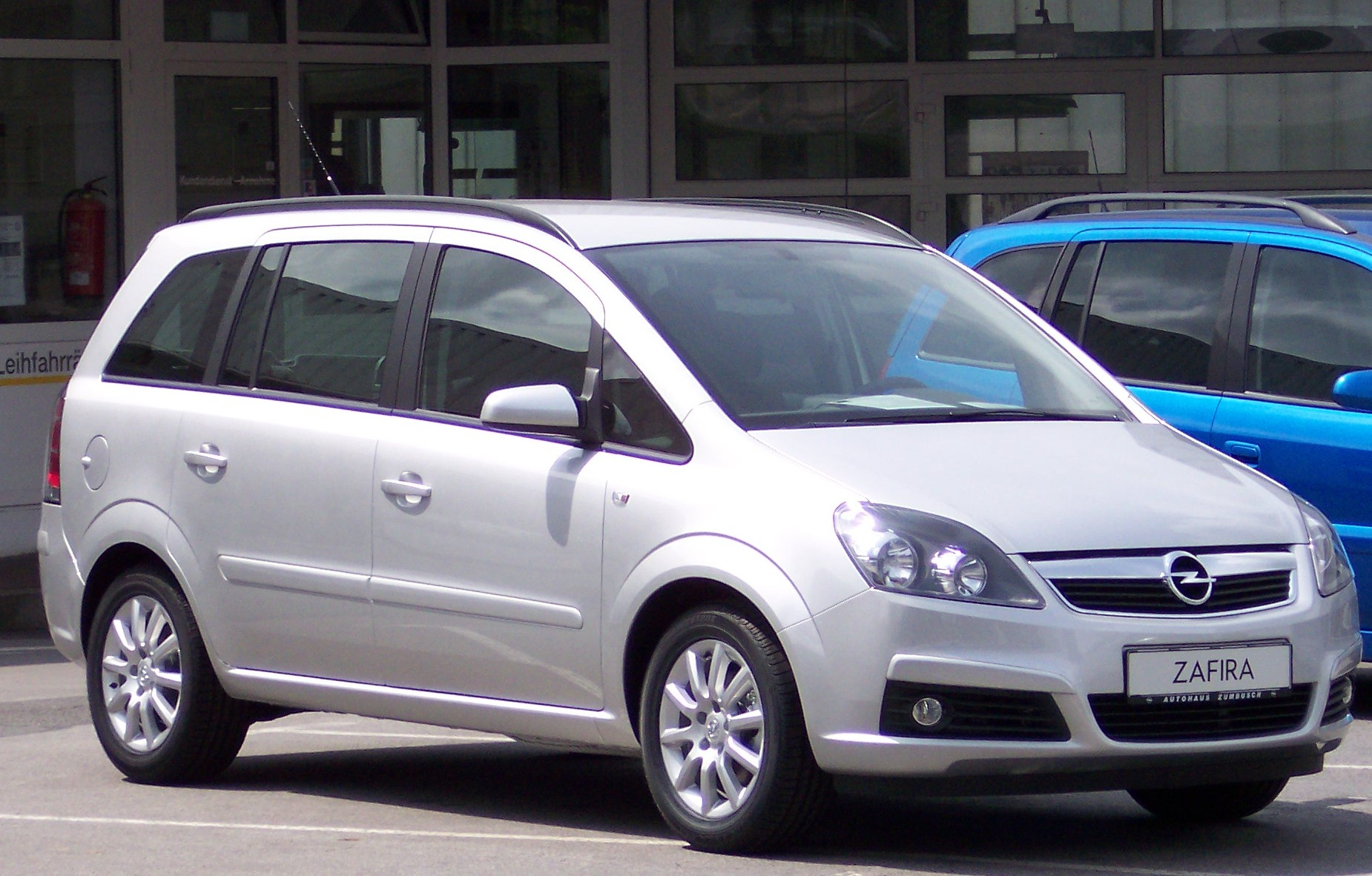Opel Zafira — a model manufactured by Opel. The model received many reviews