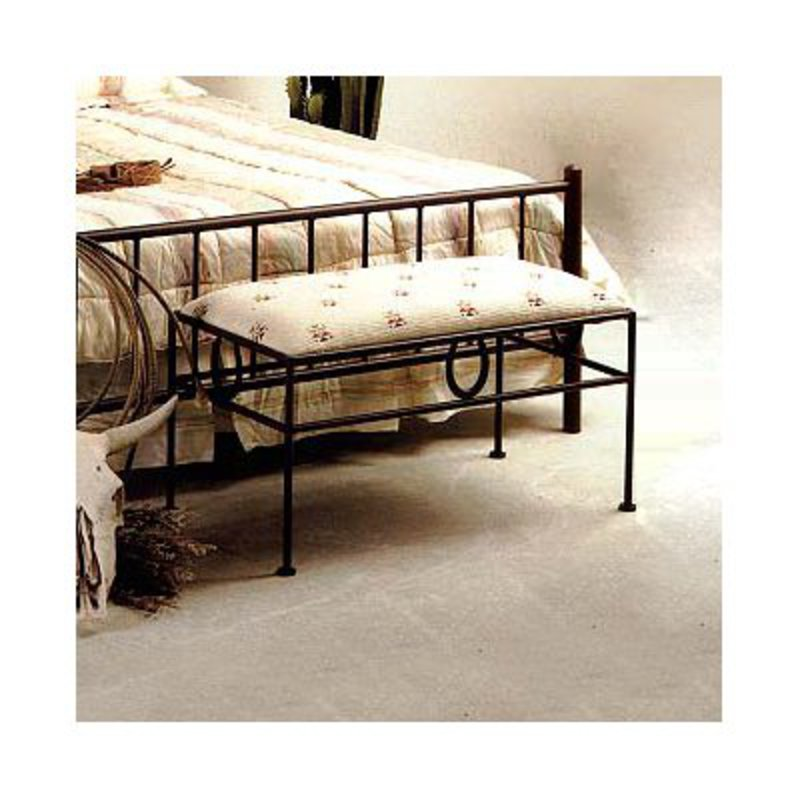 Grace Collection GMC-B2-4 Horseshoe Bedroom Bench