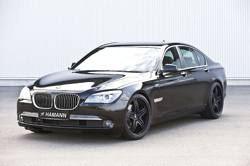 was based on the BMW 760i/L. Engineers from Hamann managed to increase
