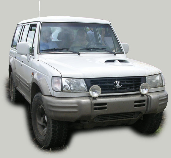 Exceed trim. The Galloper is esentially a first generation Mitsubishi