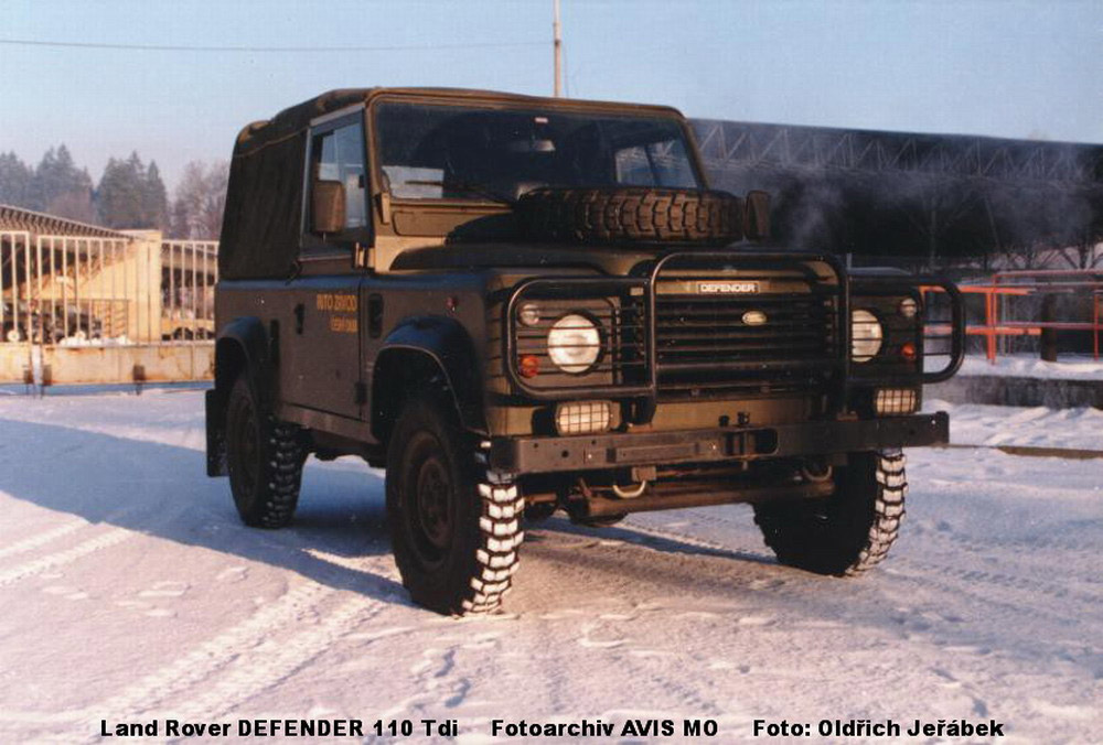 the DEFENDER 110 TDi vehicle replaces the older off-road one-ton vehicle