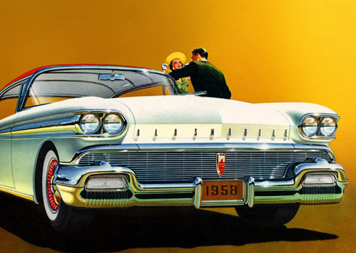 1958 Oldsmobile 98 Holiday Coupe. Share it: