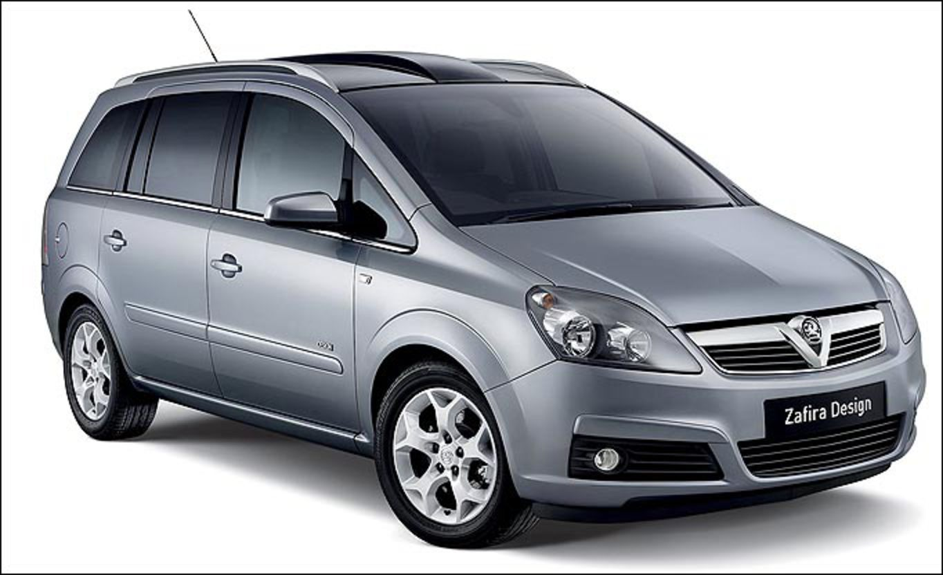 The Vauxhall Zafira is a great value, seven-seater, flexible people carrier