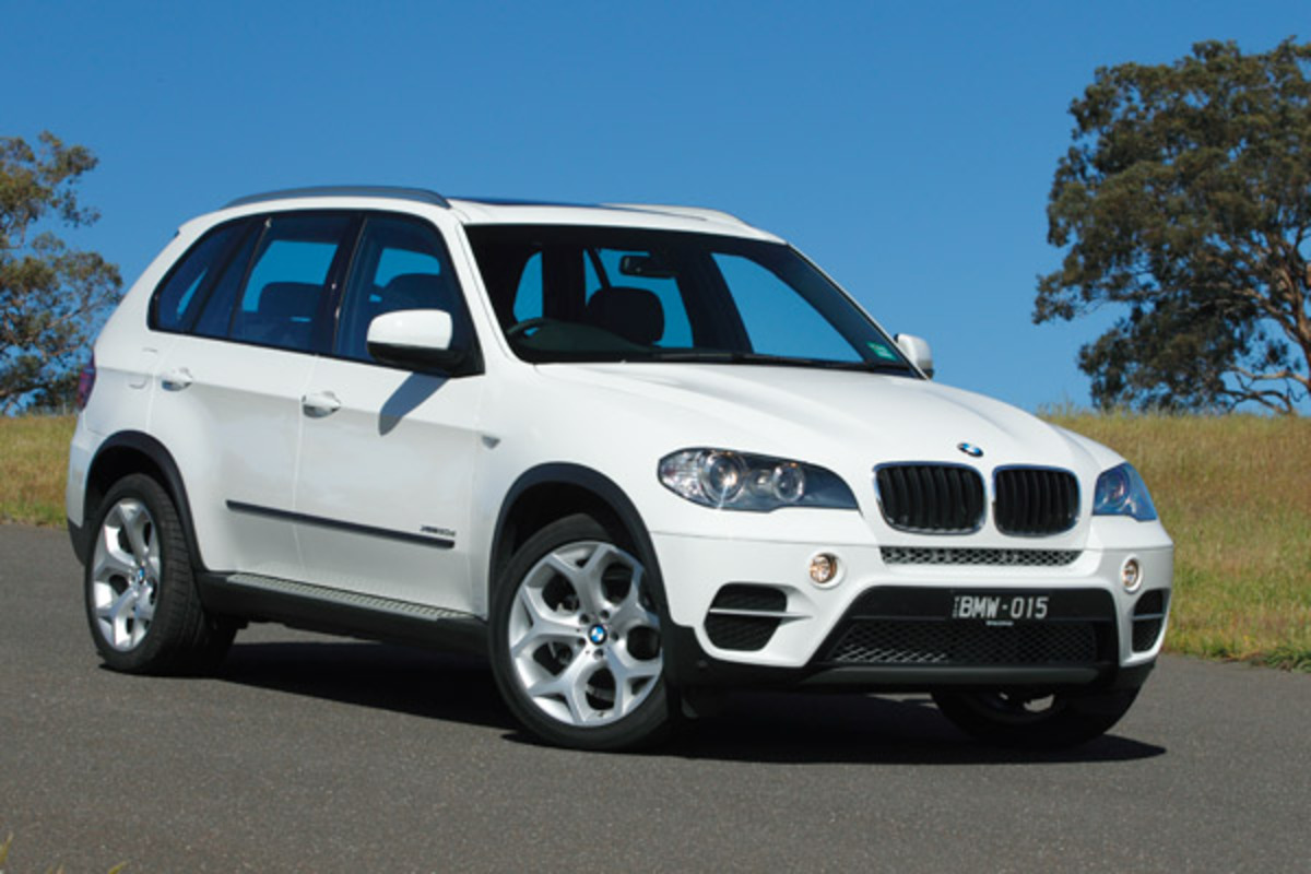 The BMW X5 30D. Skip to more gallery info and related links