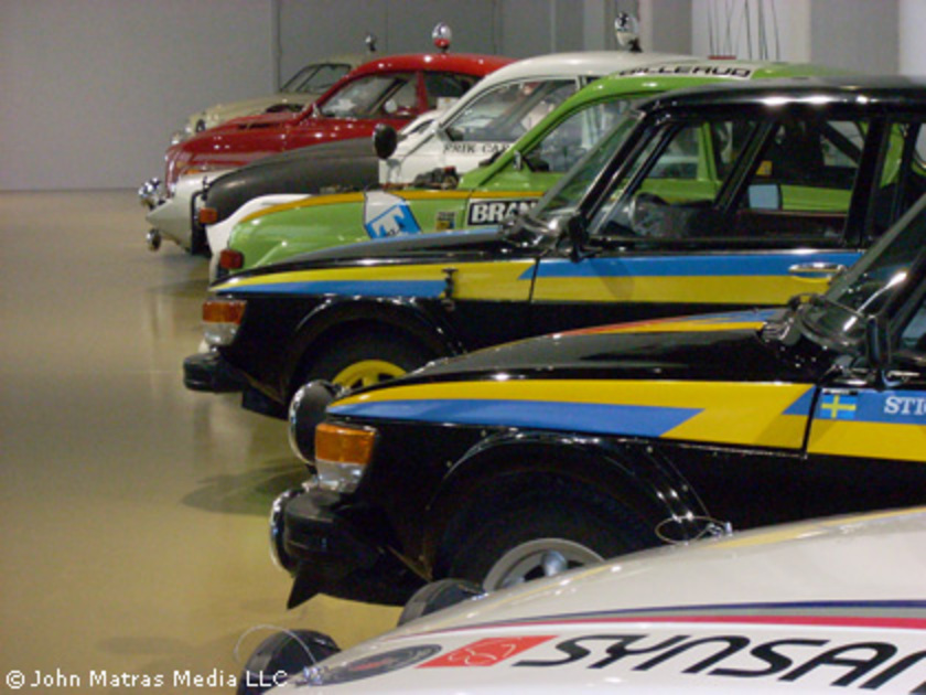 Saab Bilmuseum. The center of the earth for Saab enthusiasts is a place