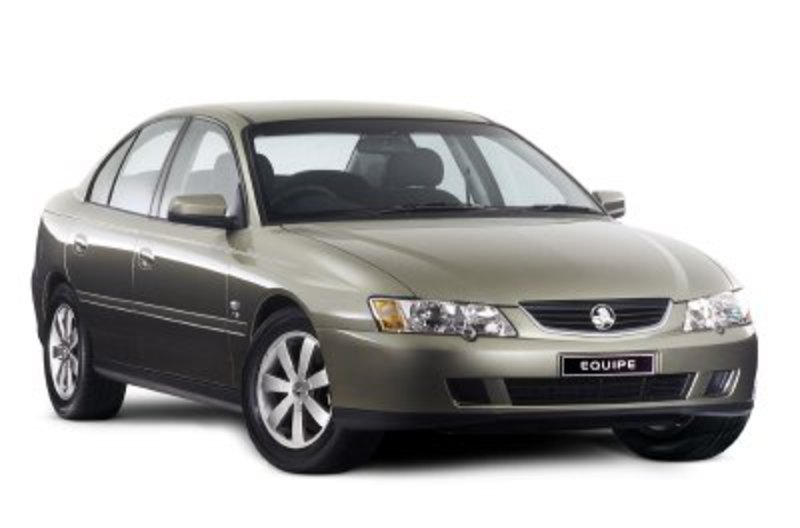 The 2004 Holden Commodore Equipe sedan - VYII series