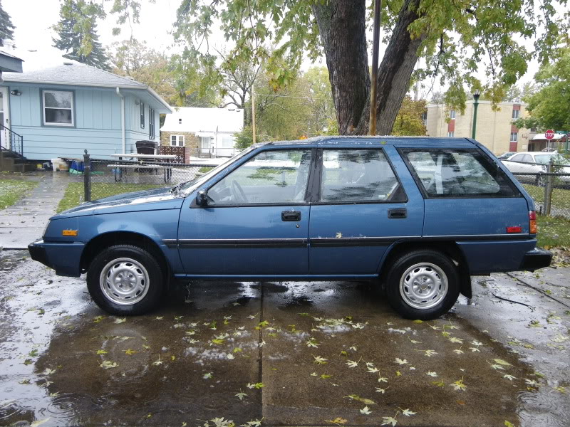 1989 Dodge Colt DL Station Wagon, AWD, 5spd - MitsuStyle