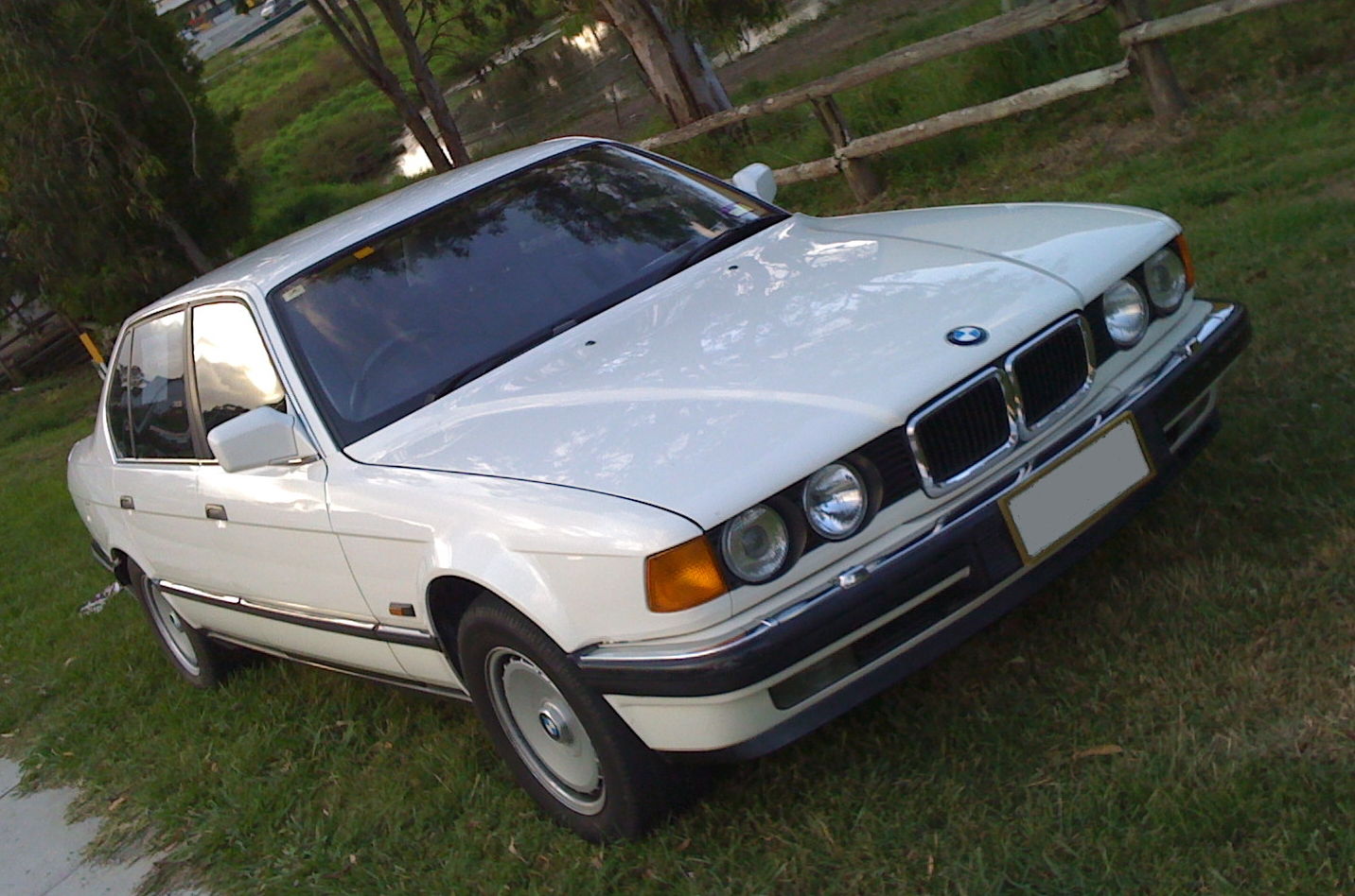 The year was 1988 and the BMW 750iL was an astonishing car – twin