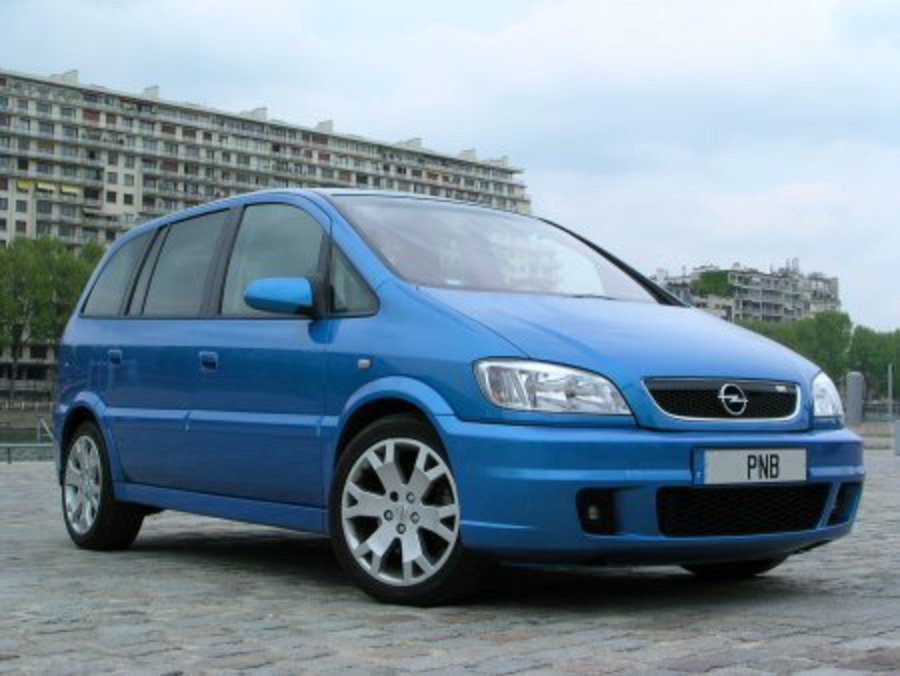 Opel Zafira OPC - huge collection of cars, auto news and reviews,
