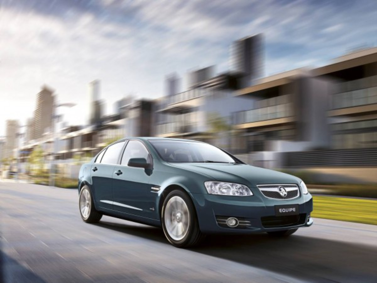 2012 Holden Commodore Equipe Special Edition