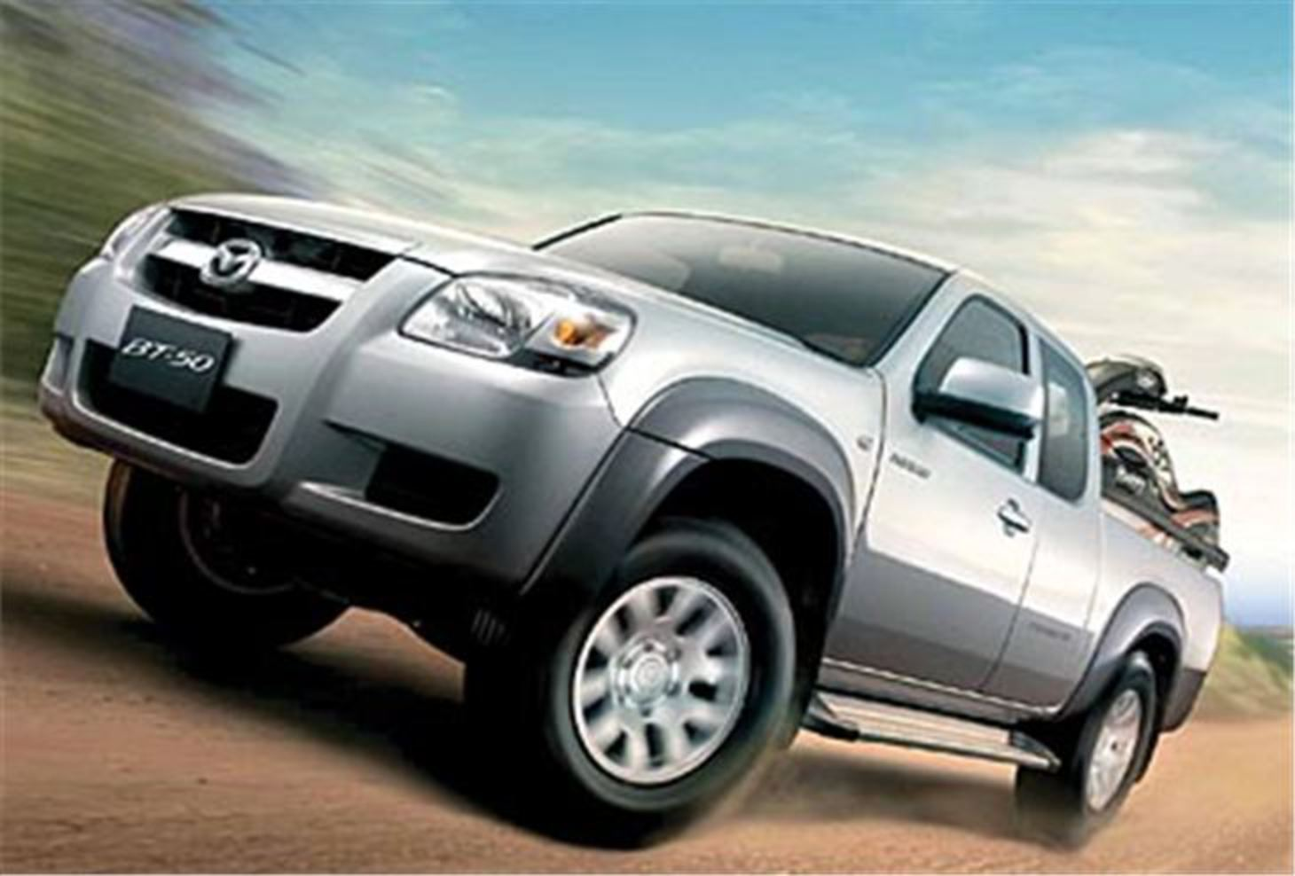 The Mazda BT-50 pick up, originally launched