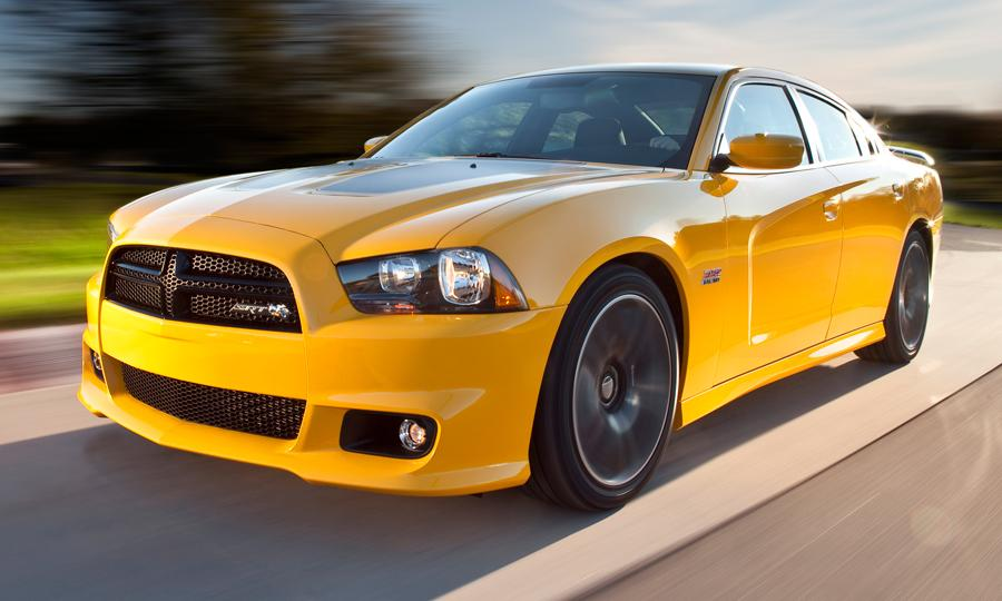 car review of the 2012 Dodge Charger SRT8 Super Bee.