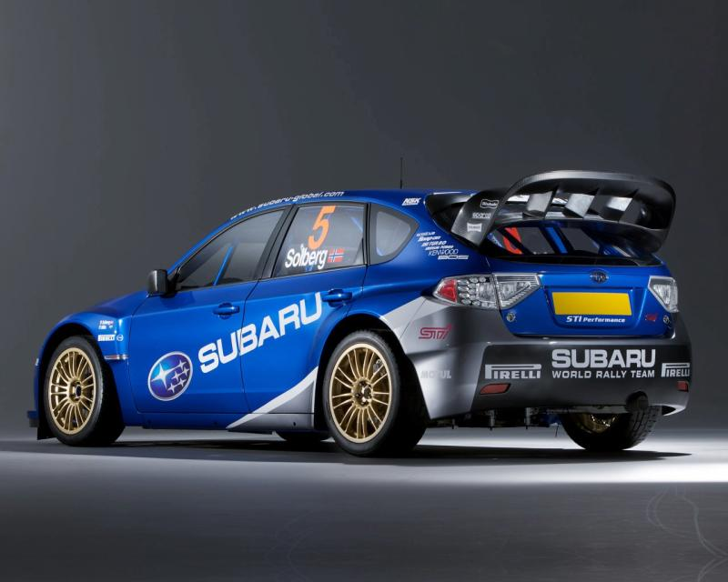 Rear Wing Manufacturer of Solberg's WRC car?