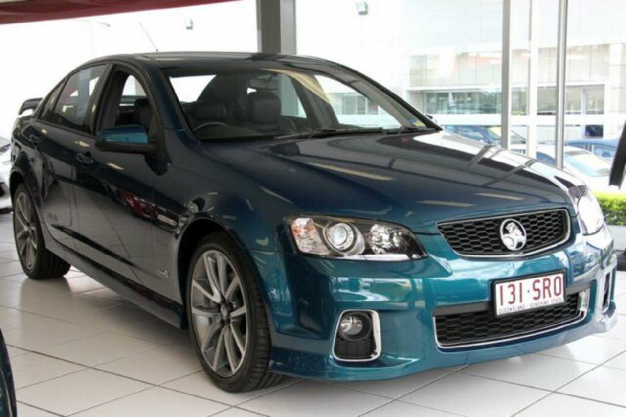 Discounted Used 2012 Holden Commodore VE II MY12 SS V Chlorophyll 6 Speed