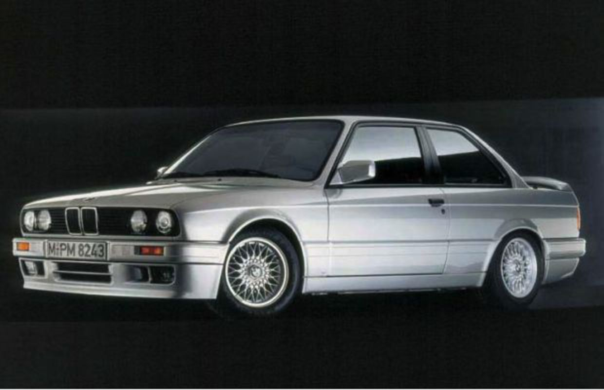 4. E30 320is. Years: 1987 - 1990. Market: Portugal, Italy