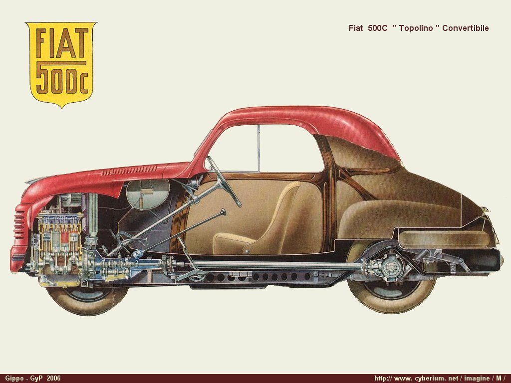 Fiat Topolino 500C - cars catalog, specs, features, photos, videos, review,