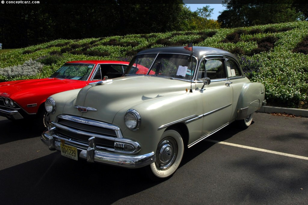 1951 Chevrolet Styleline Deluxe Images, Information and History (Bel Air,