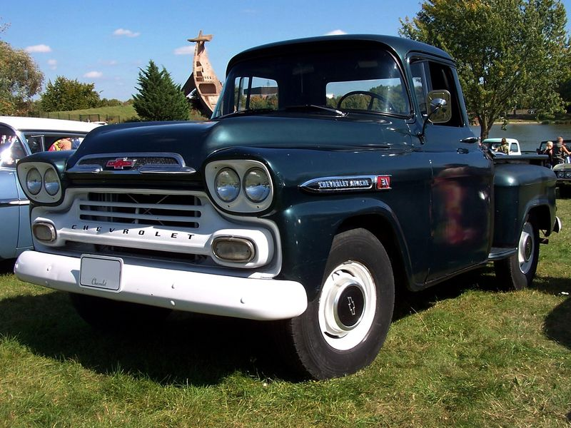 Chevrolet Apache 31 stepside pickup 1959