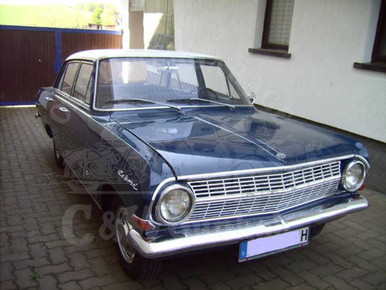 Opel Olympia Rekord from Germany