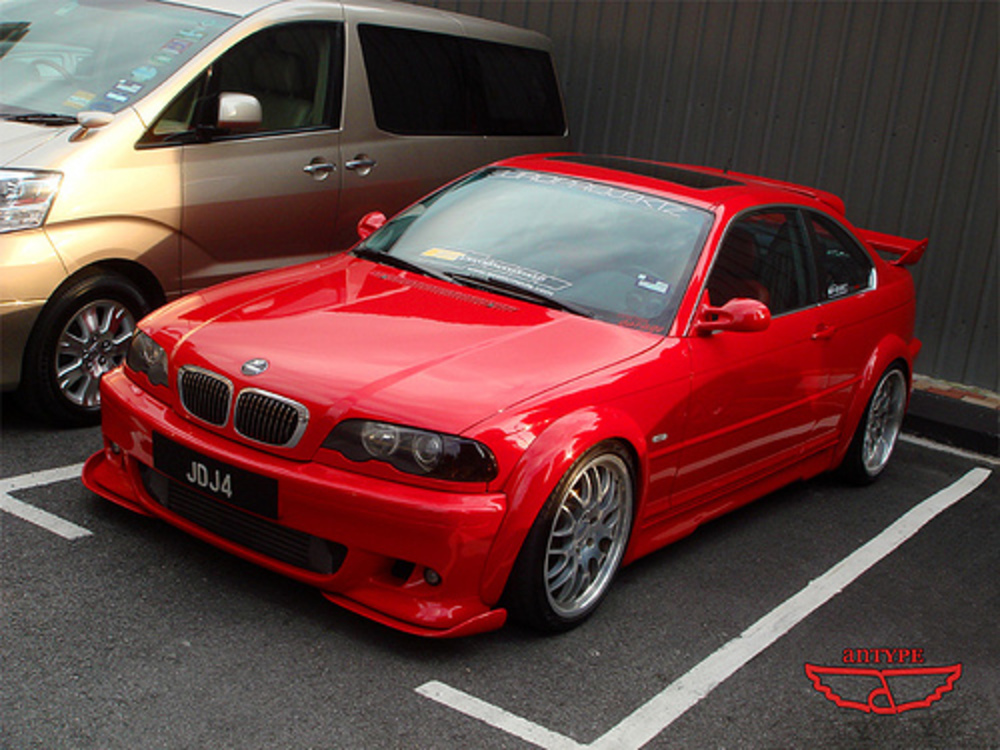 BMW 325i with full Hamann wide body kit. www.facebook.com/anTypePhotography