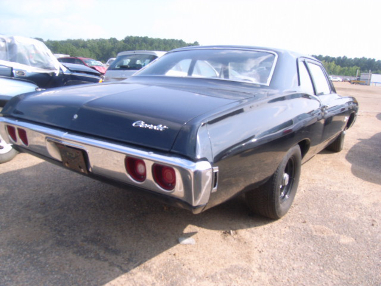 Salvage CHEVROLET BISCAYNE 1968 for sale, vin: 153118F240613 in FLORENCE,