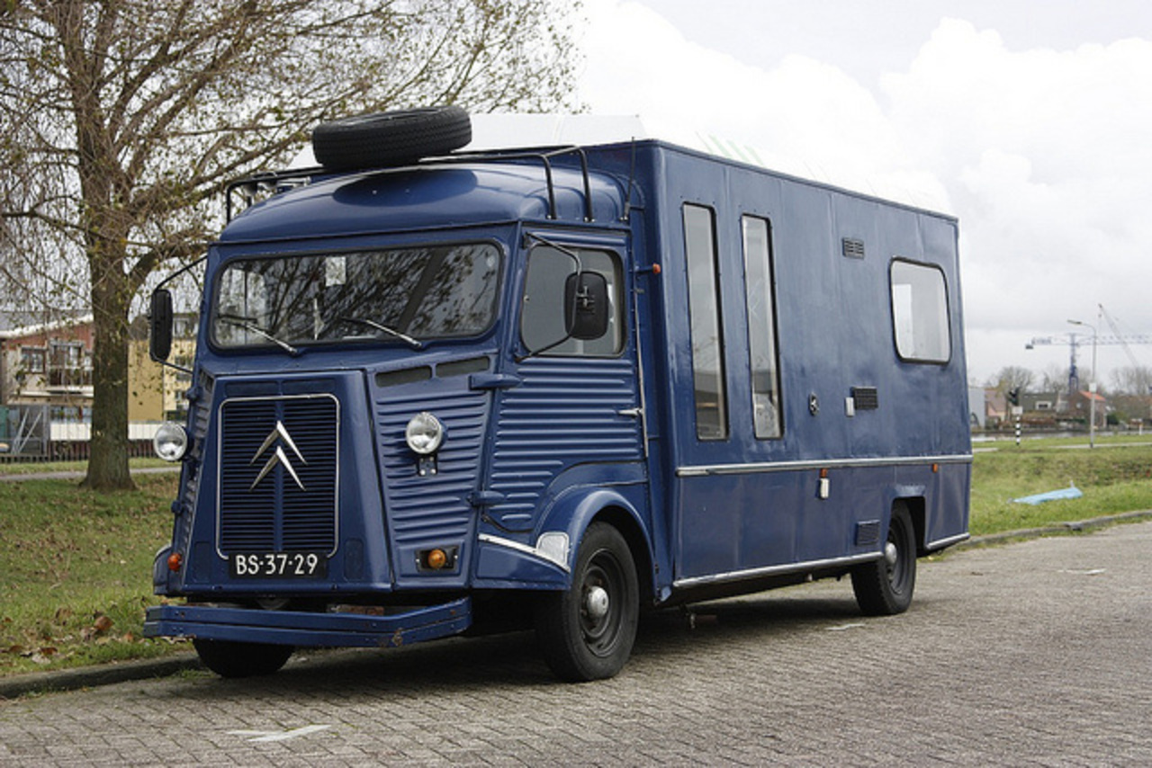 Other Cool Campers The Citroen Hy Or H Van E B