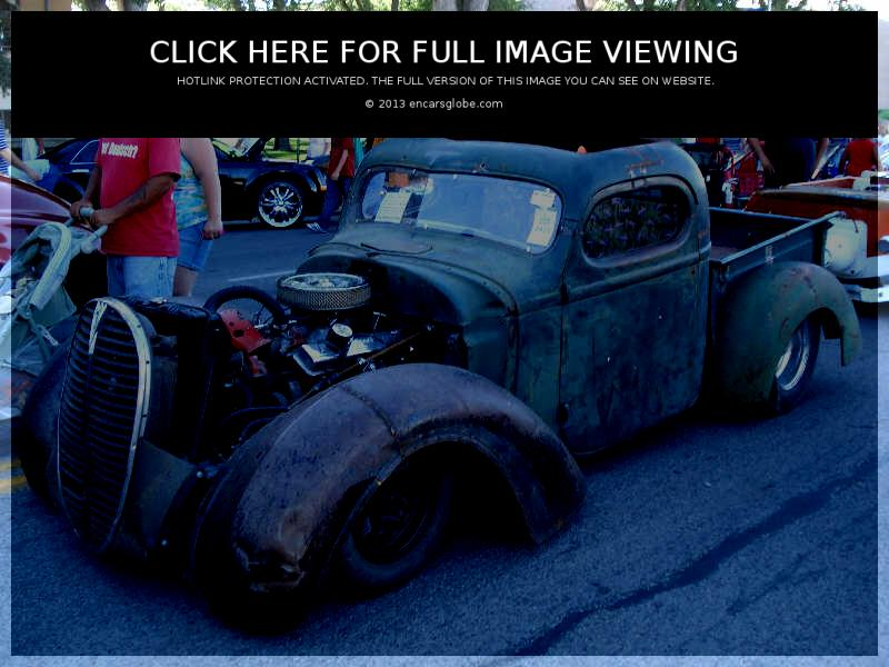 International Rat rod pickup: Photo gallery, complete information ...