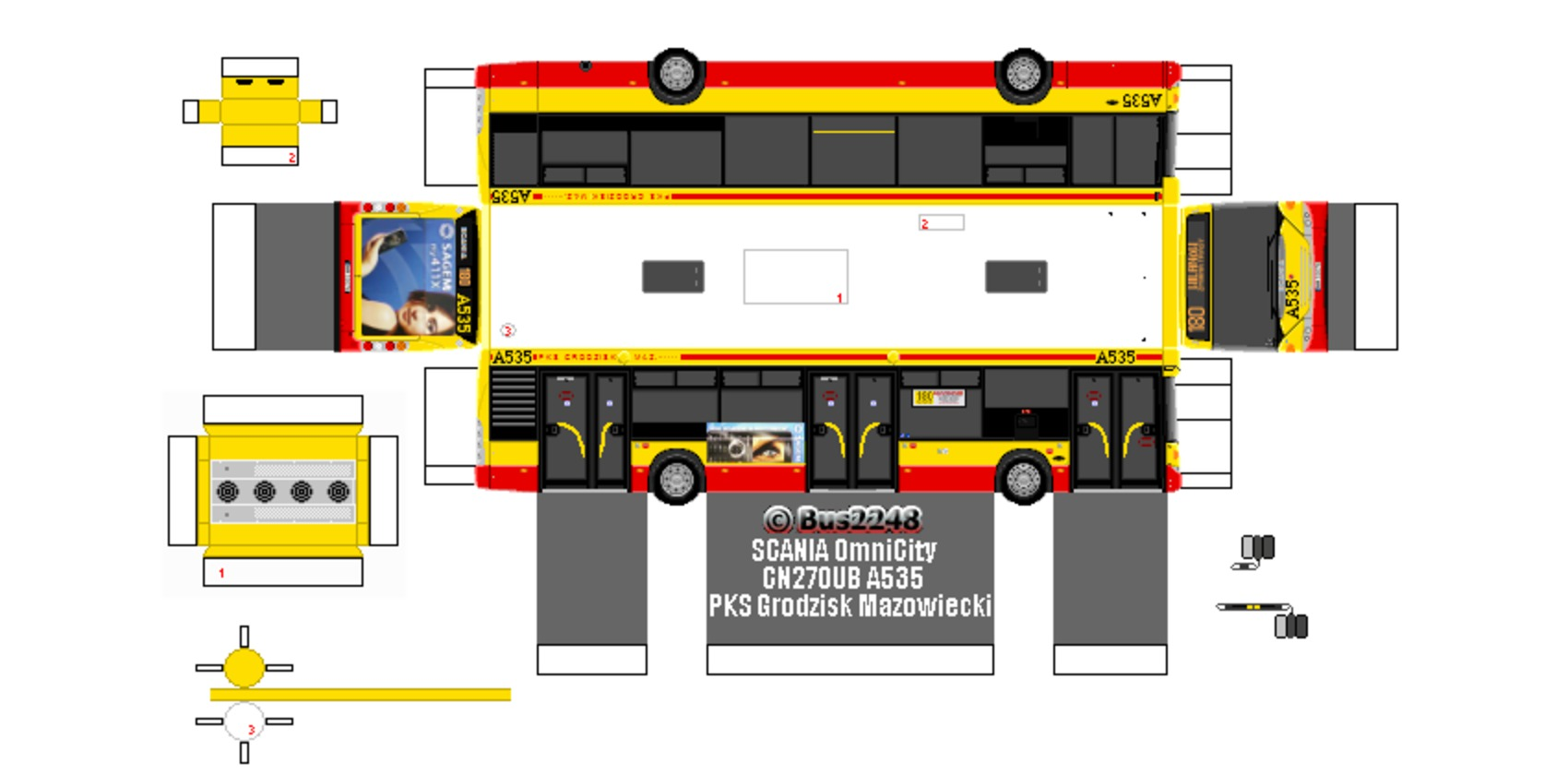 Scania CN270UB OmniCity. View Download Wallpaper. 850x420. Comments