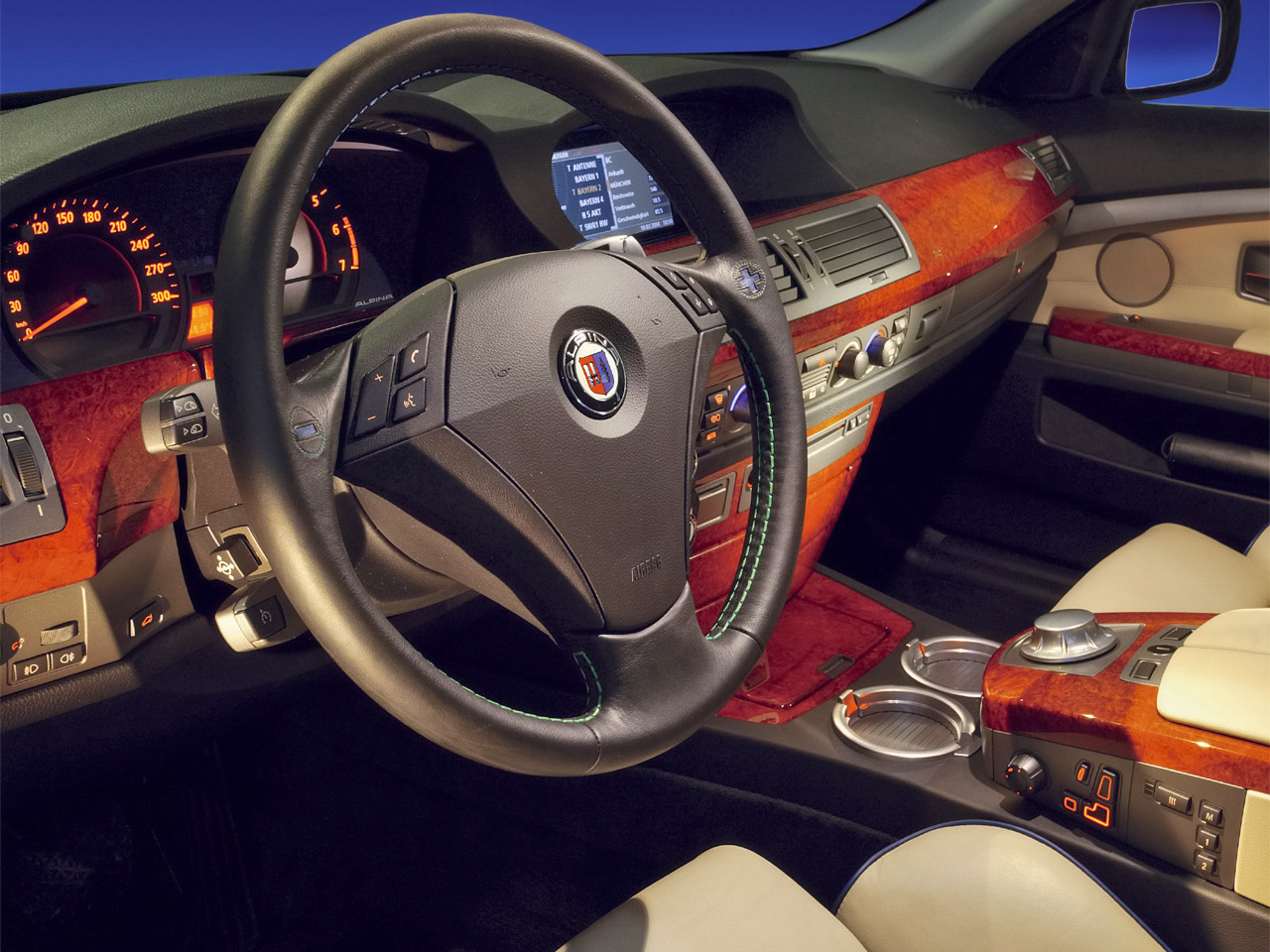 2007 BMW Alpina B7 picture, interior