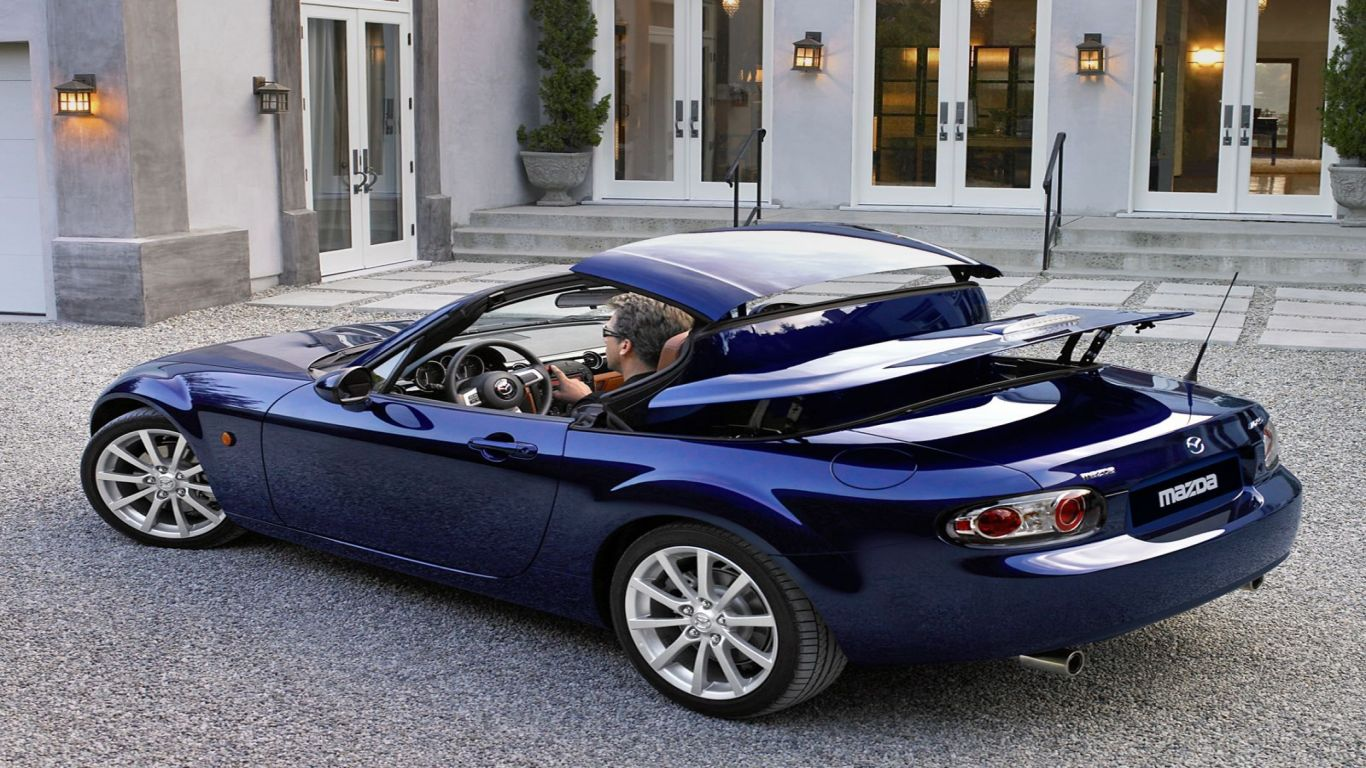 Mazda MX-5 Roadster Coupe resolution 1366x768