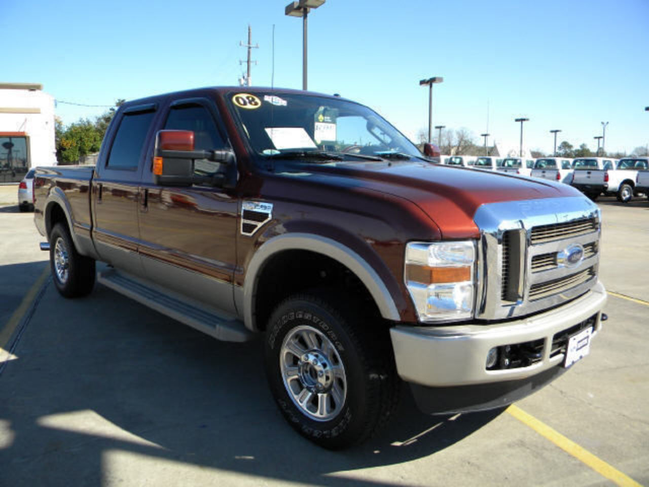 topworldauto photos of ford f 250 king ranch super duty 4x4 photo galleries. Black Bedroom Furniture Sets. Home Design Ideas