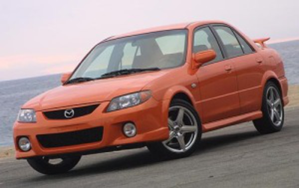 Platform overview not yet available for Mazda Mazdaspeed Protege.